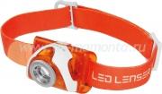 Фонарь LED LENSER SEO3 оранжевый